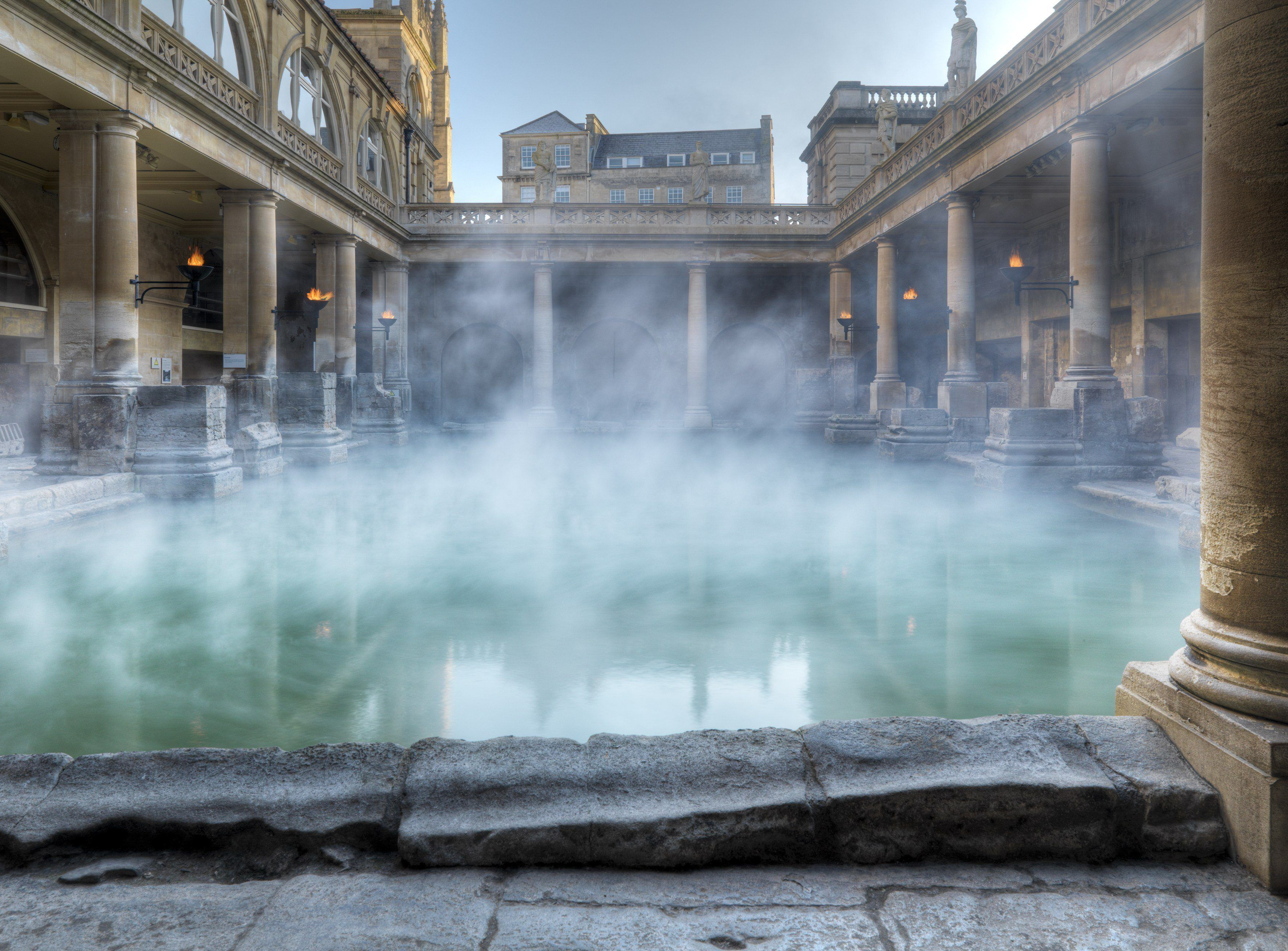 Hire The Roman Baths And Pump Room For Private Events