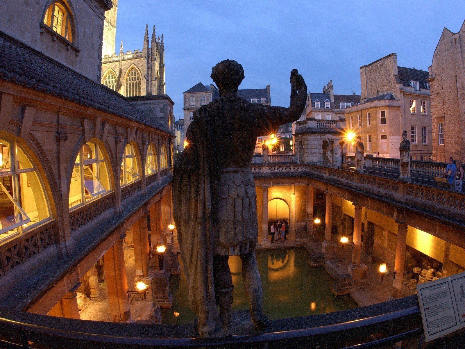 Hire The Unique Roman Baths For Weddings And Drinks