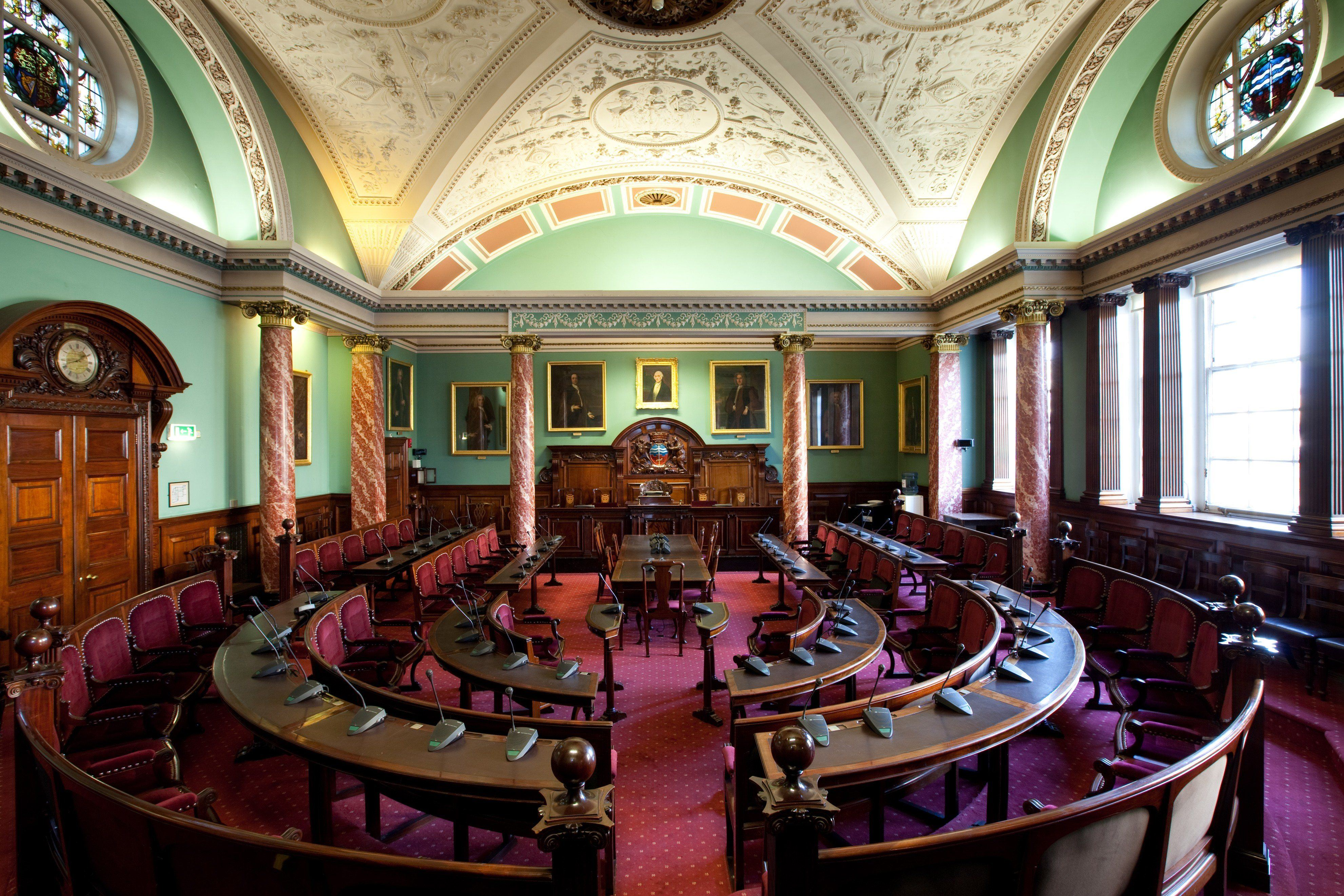 Council Chamber Perfect For Meetings And Wedding