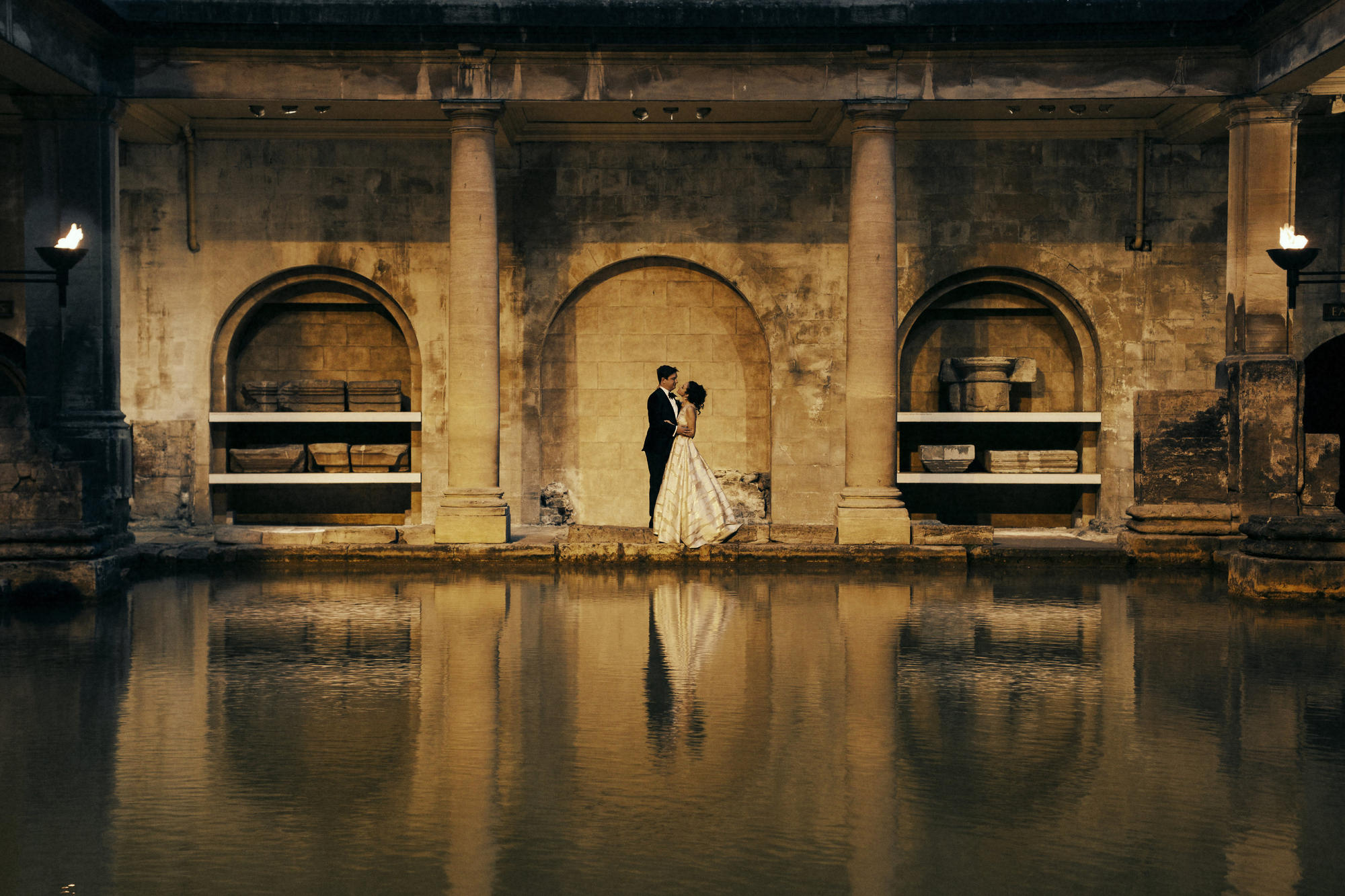 Roman Baths unique wedding venue | Bath Venues