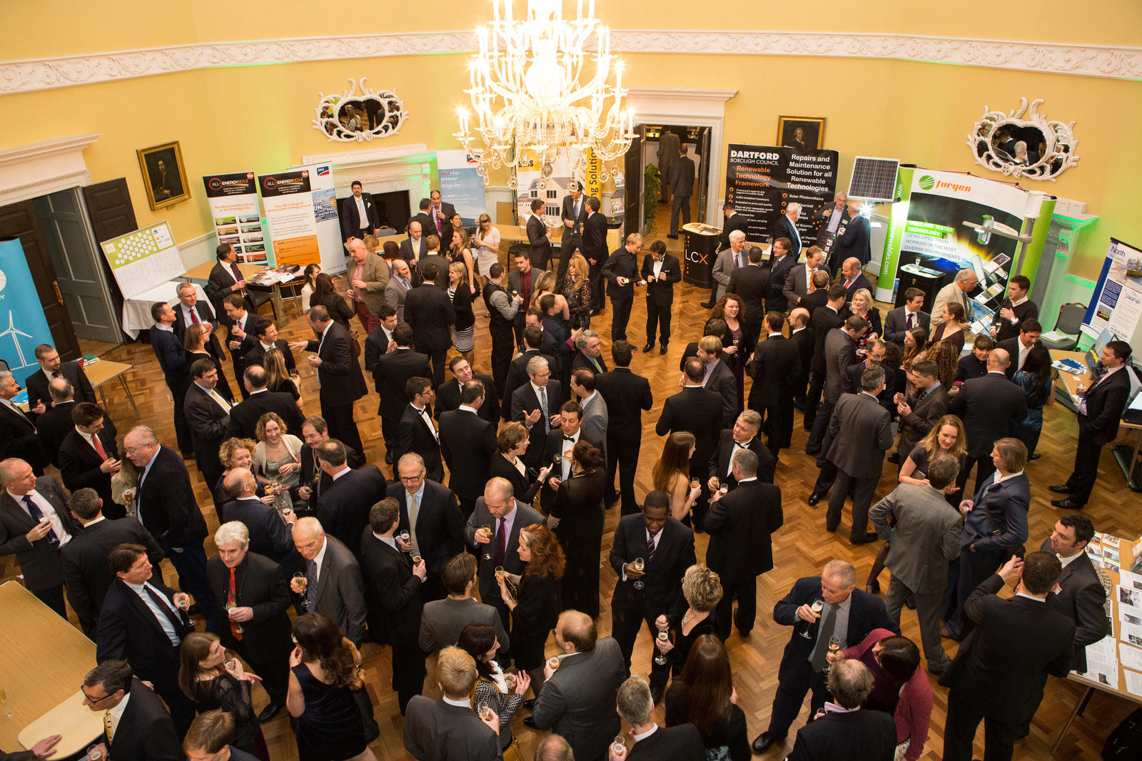 Image: Conference Reception in the Great Octagon