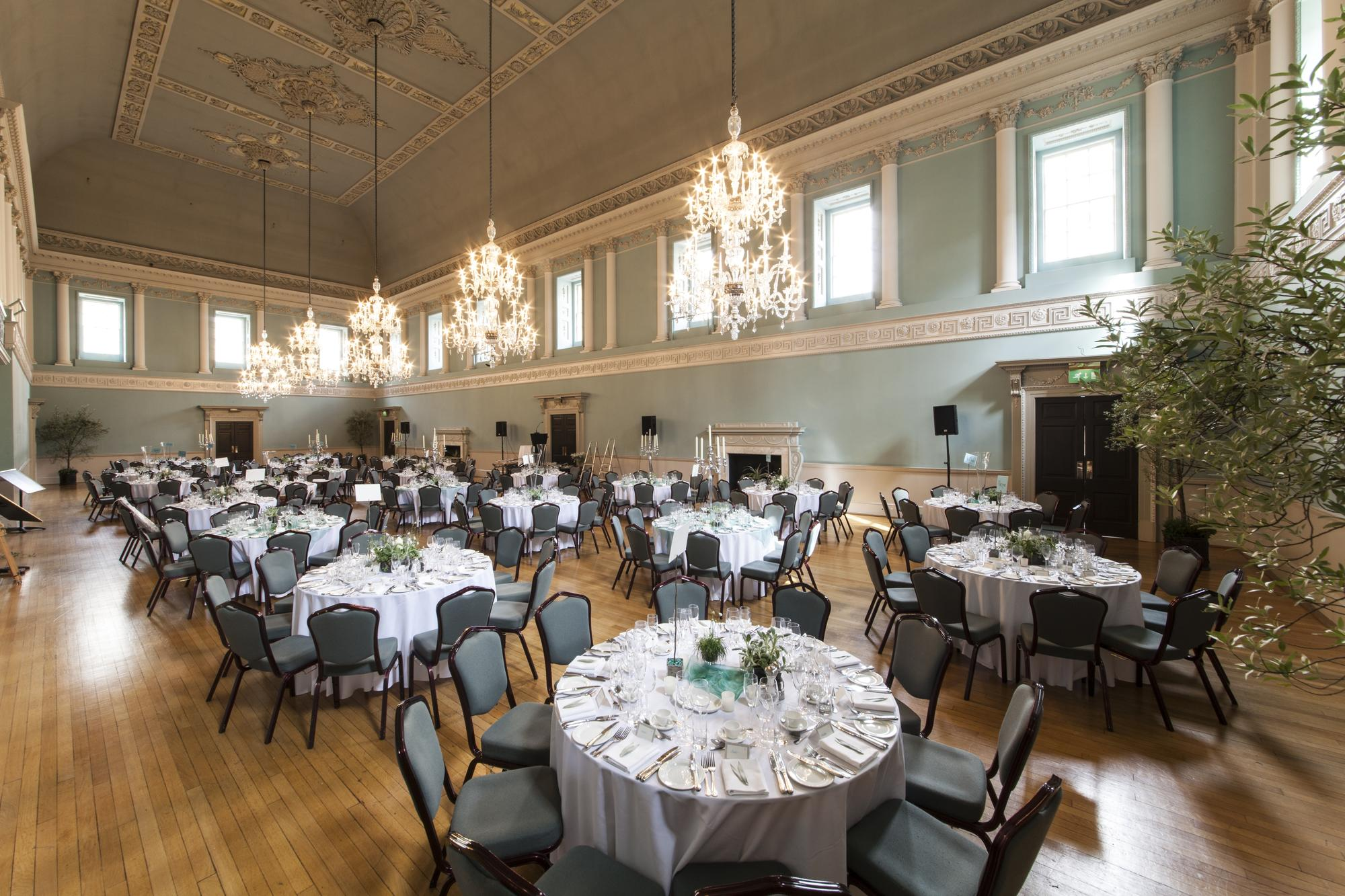 Wedding reception in the Ball Room
