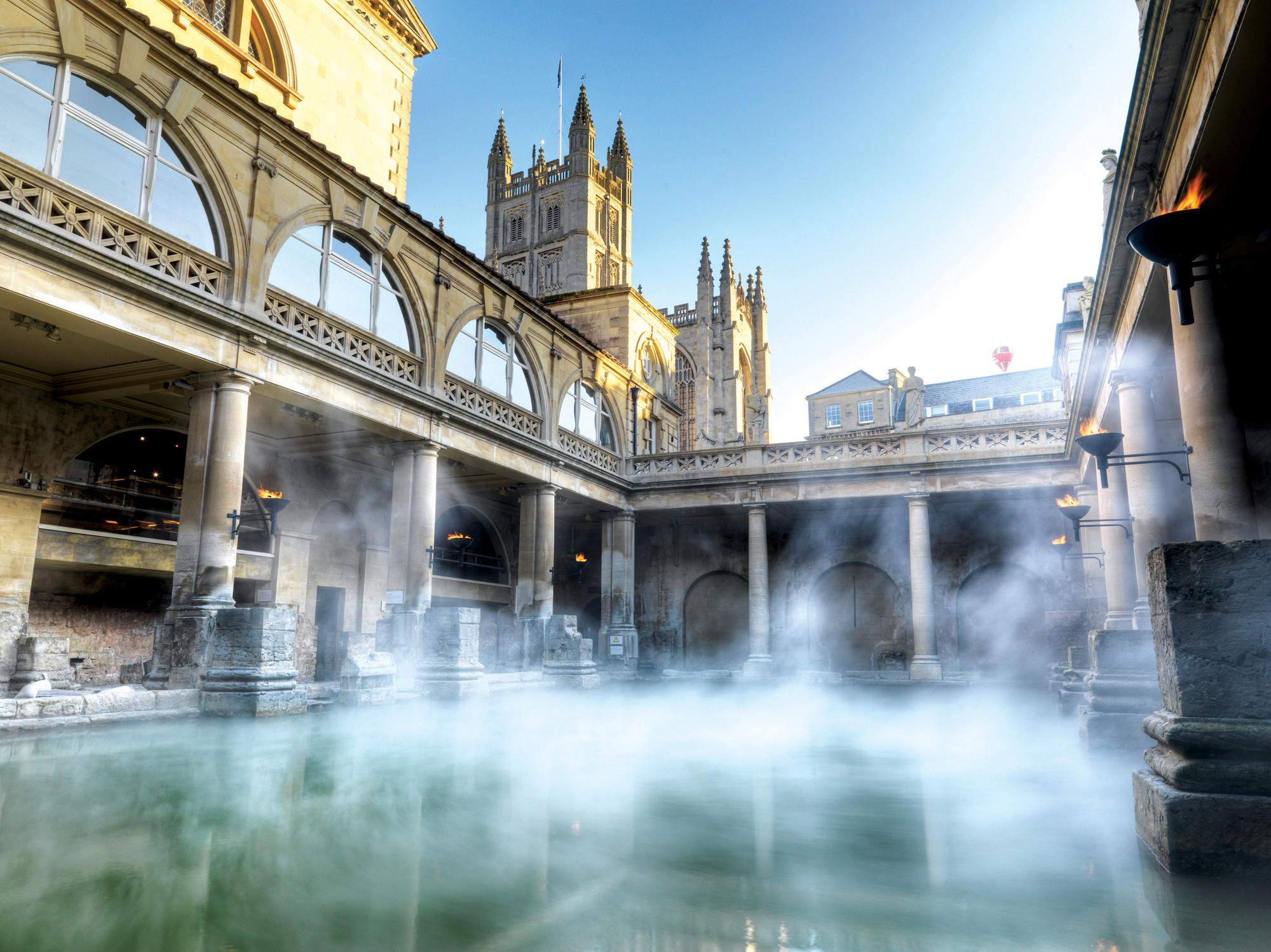 Image: Great Bath in the morning