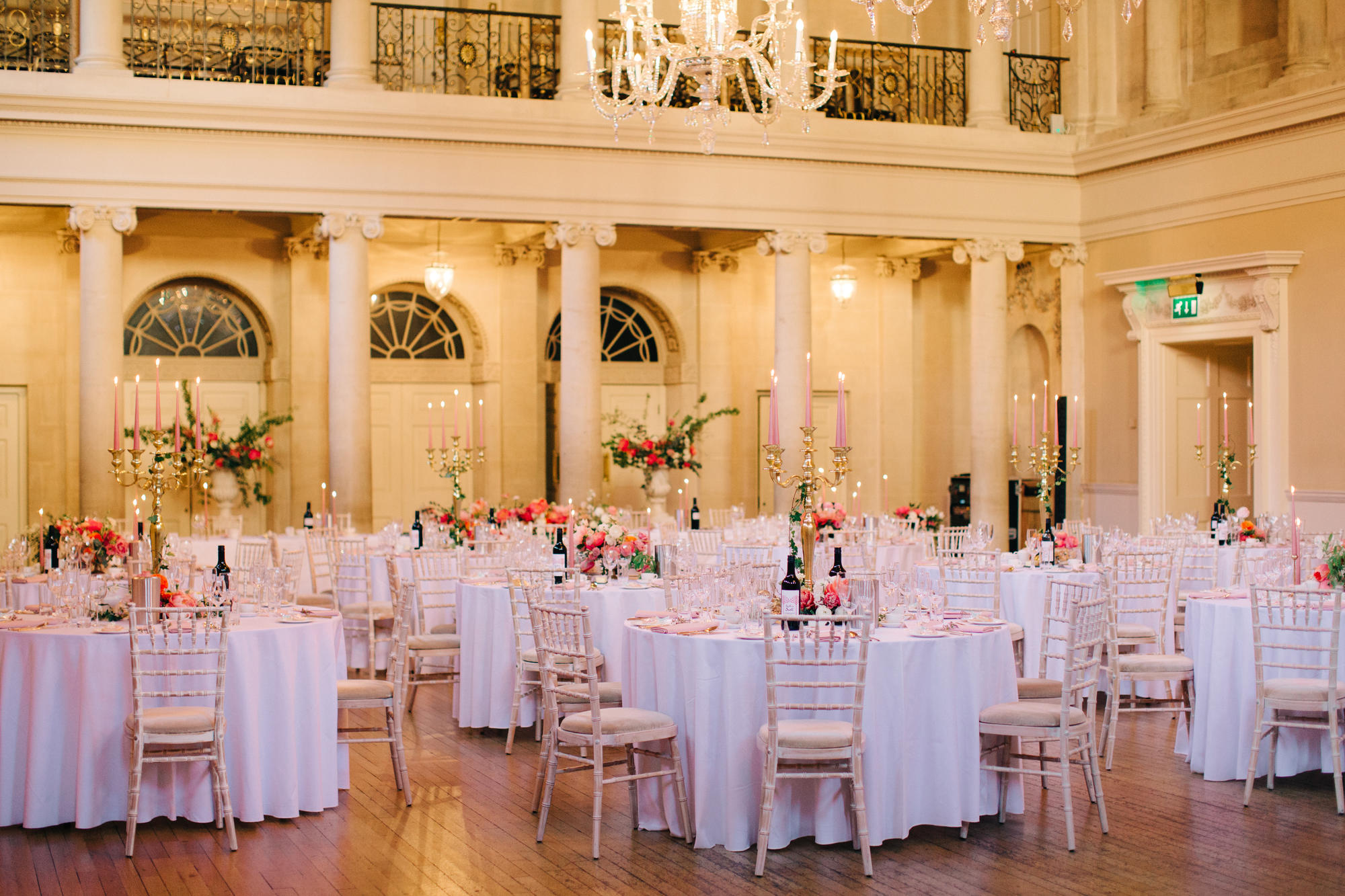 Image: Reception in the Tea Room. M&J photography