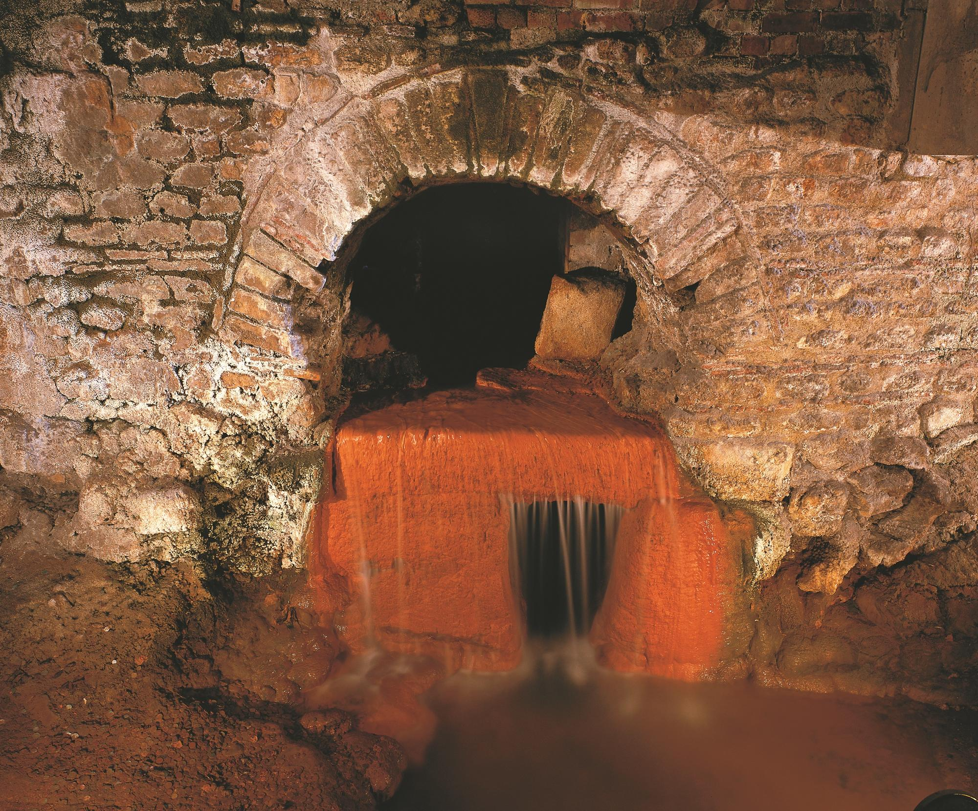 Image: Overflow at the Roman Baths Museum