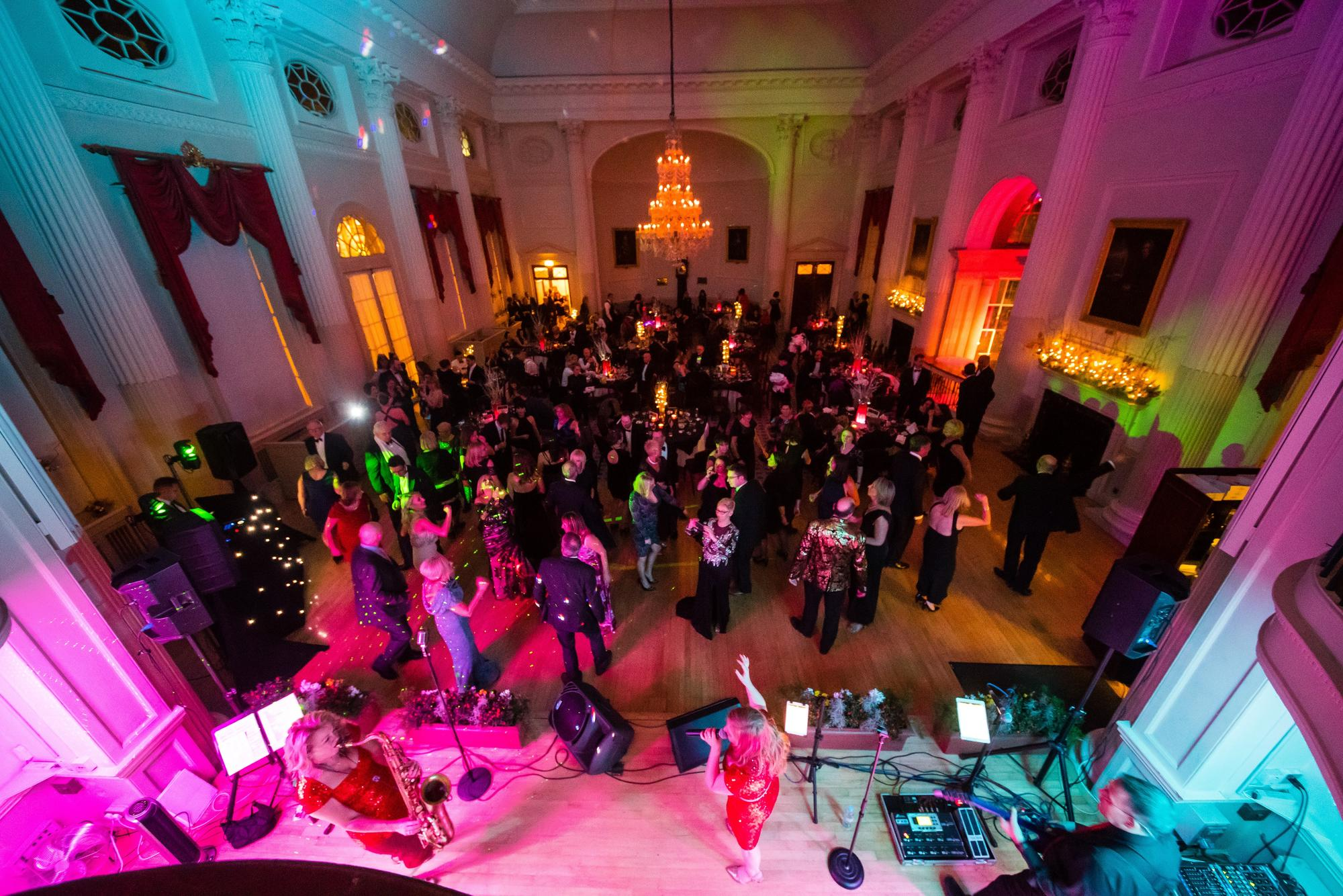 Christmas Party at the Pump Room. Image Paolo Ferla