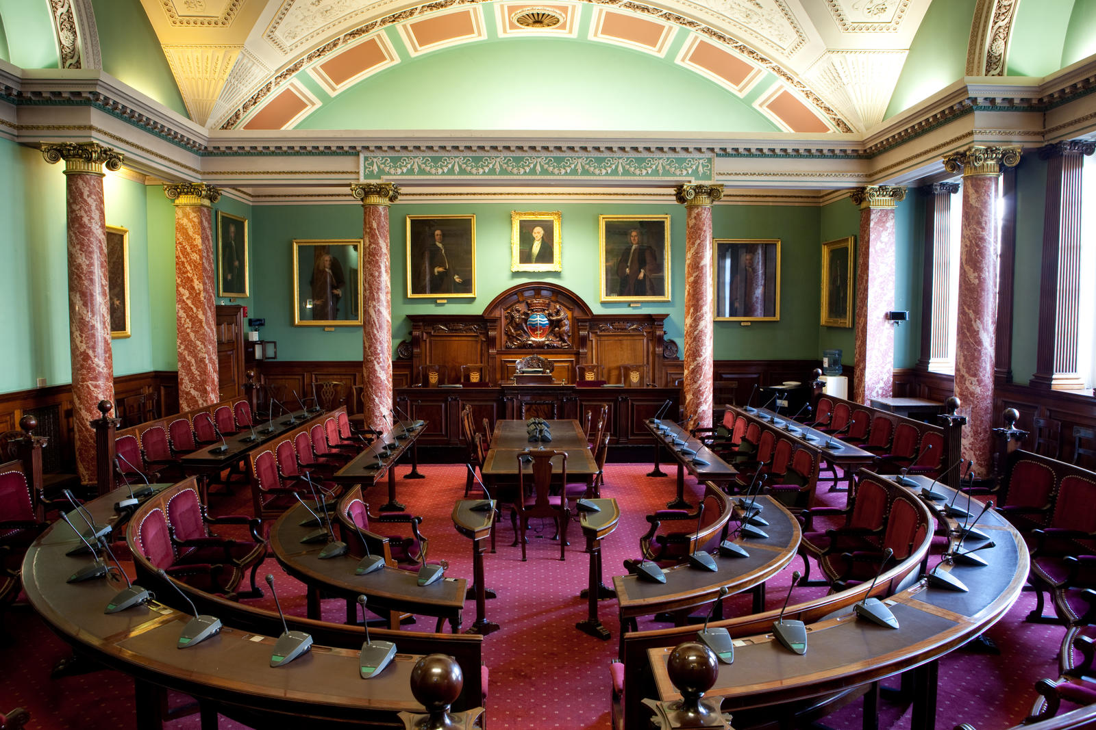 Image: The Council Chamber