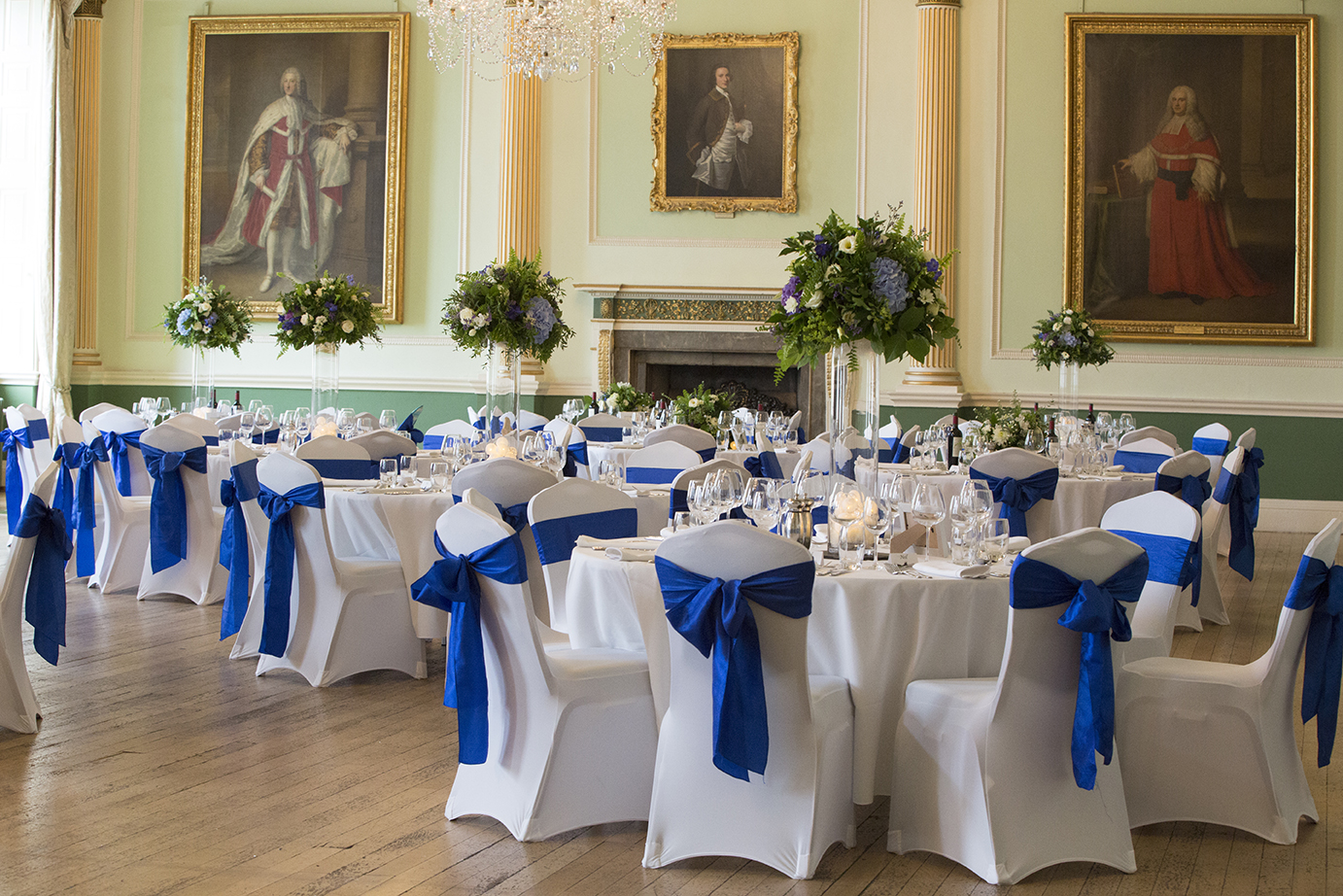 Image: Wedding reception in the Banqueting Room