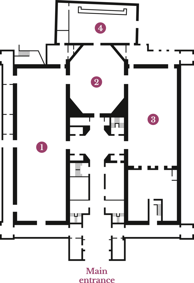 Assembly Rooms venue plan