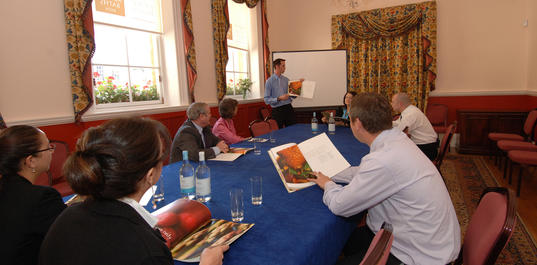 Meeting in the Kingston Room