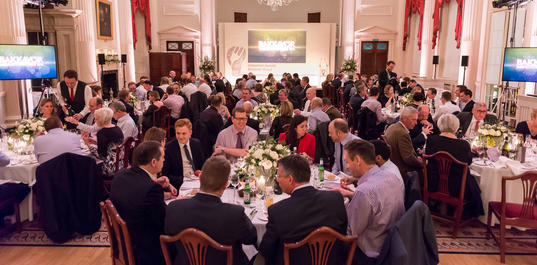 Dinner in Pump Room, Harvey and Harvey Photography