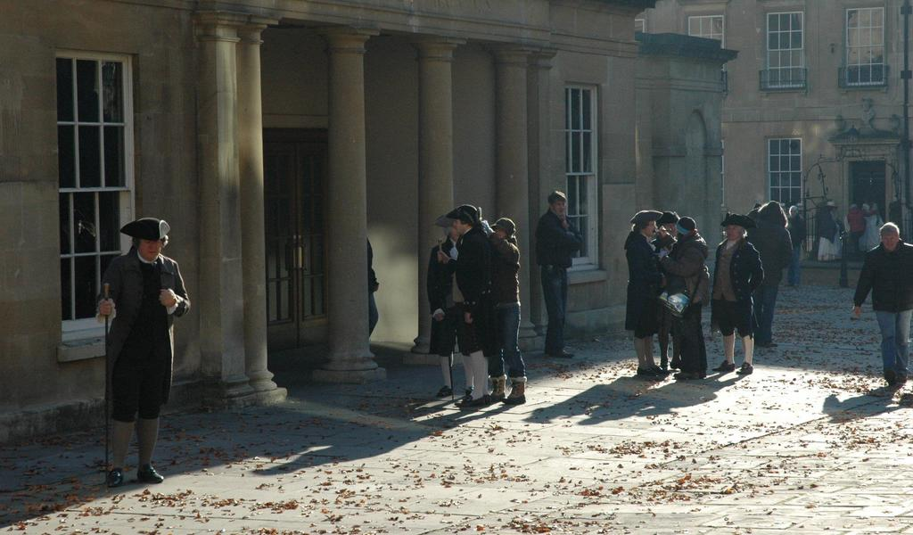 Filming of The Duchess at the Assembly Rooms
