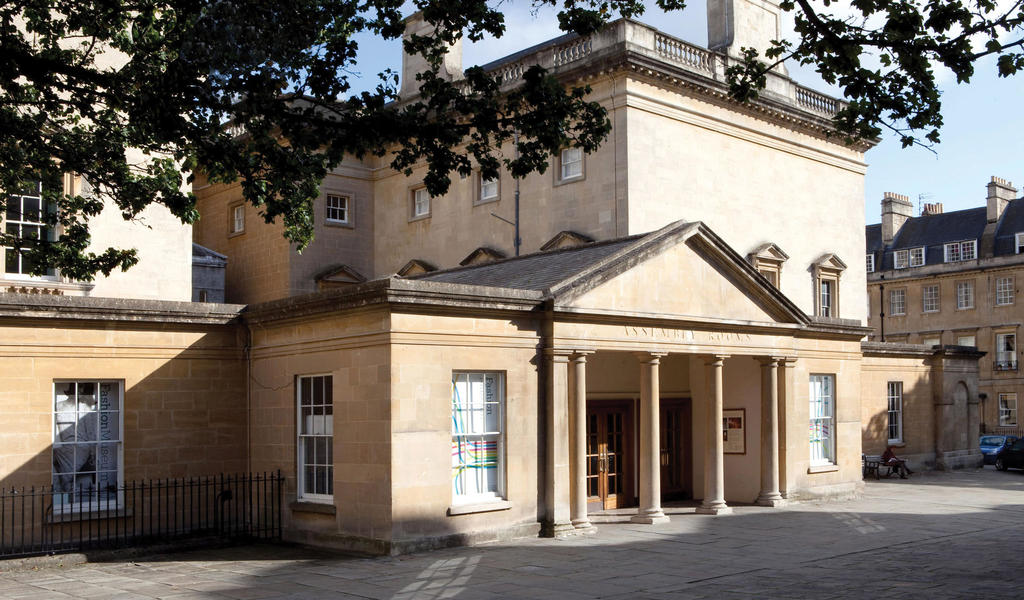 Image: Exterior of the Assembly Rooms, Bath