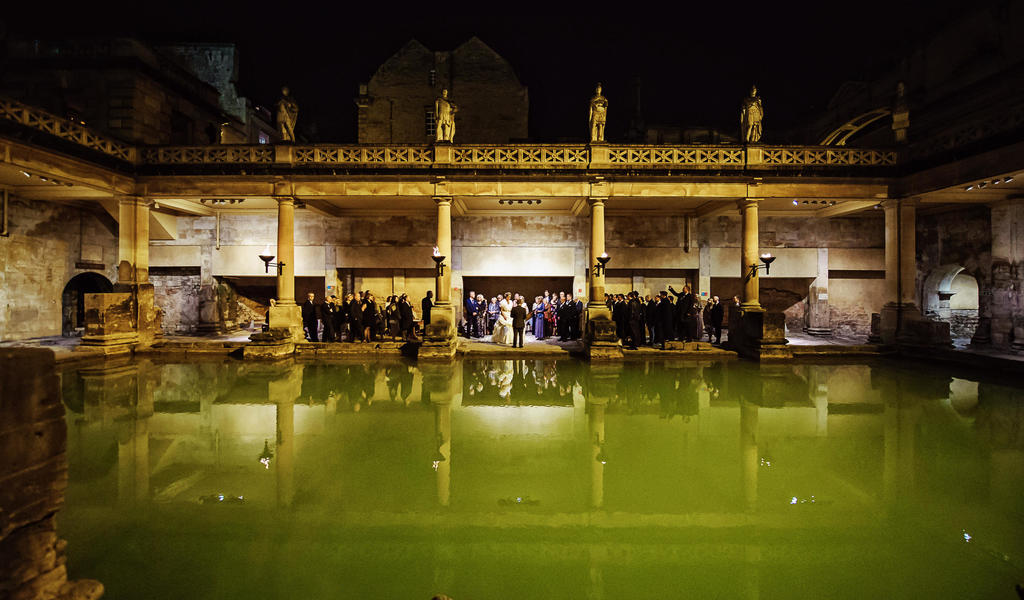 Image: Roman Baths Sunset Ceremony, Rich Howman