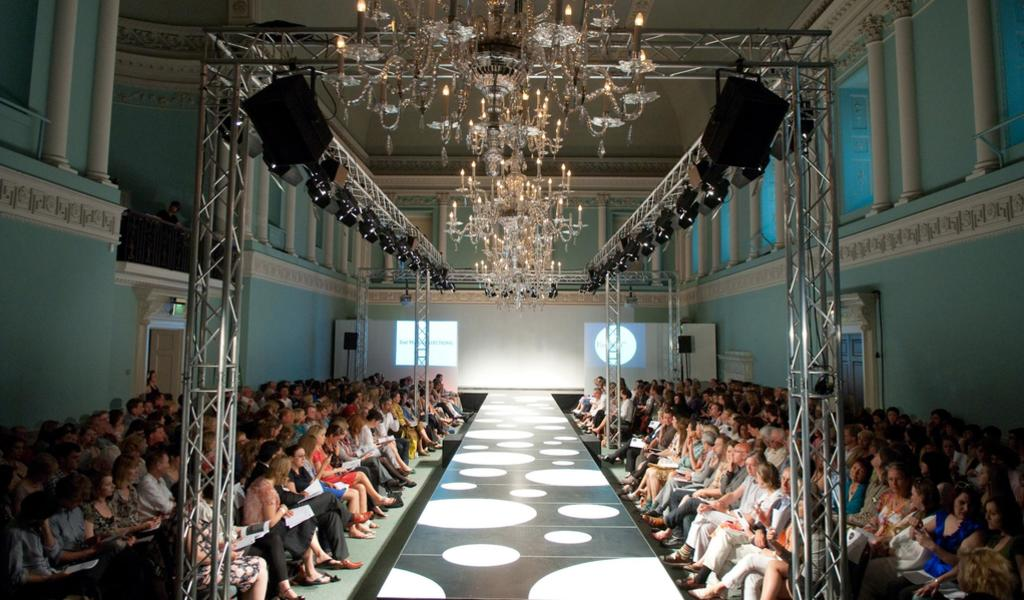 Image: Assembly Rooms fashion show