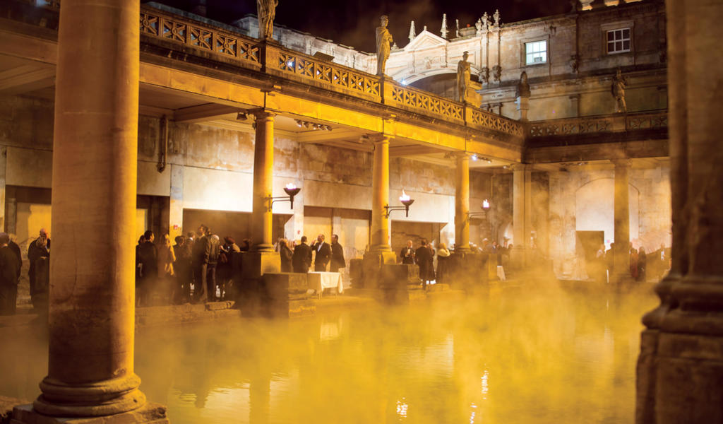 Drinks Receptions at the Roman Baths