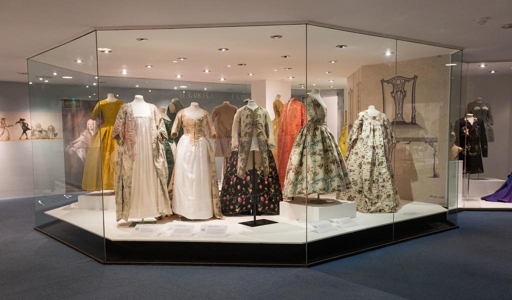 Image: Fashion Museum, Georgians Exhibition