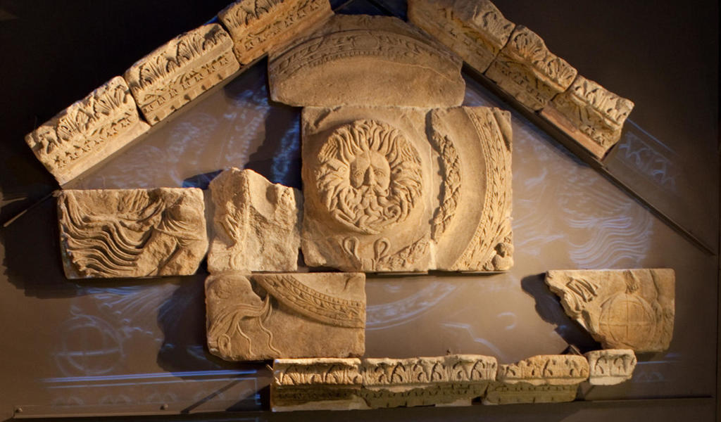 Image: Temple Pediment