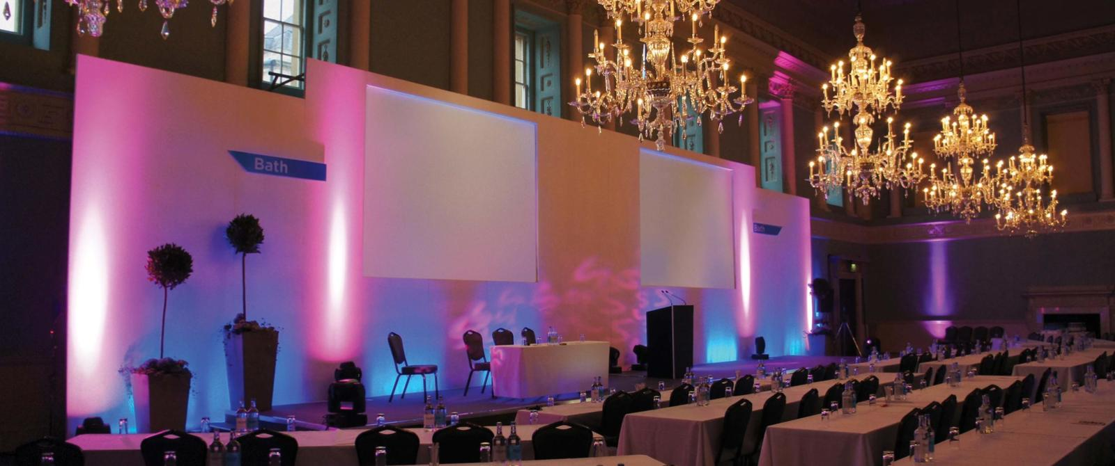 image: Conference in the Ball Room at the Assembly Rooms