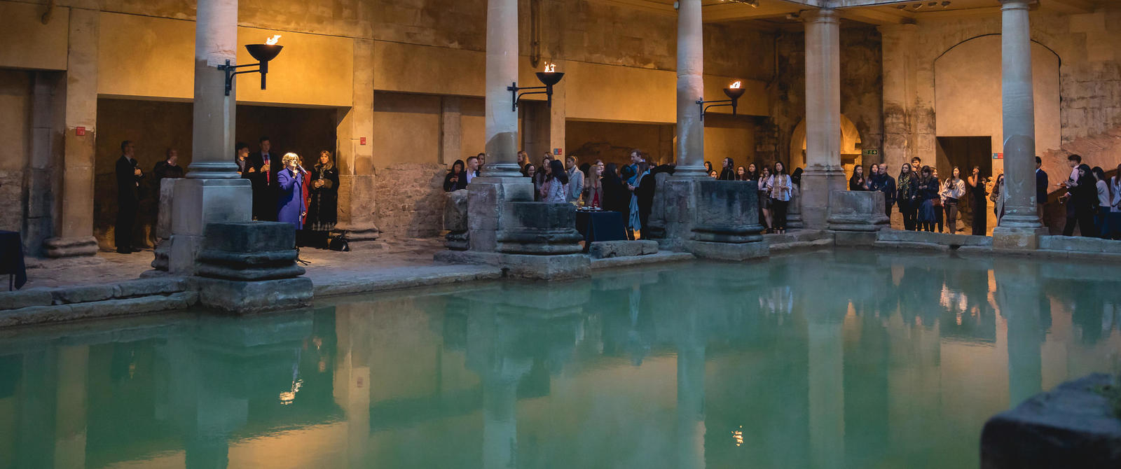 Image: Roman Baths drinks reception, Soul Media