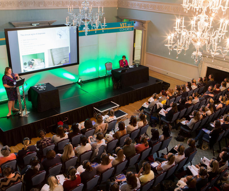 Image: Theatre style conference in the Ball Room