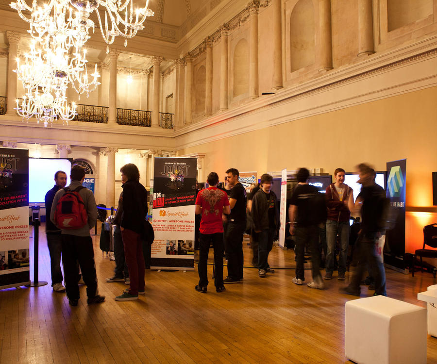 Image: Gamers exhibition in the Tea Room
