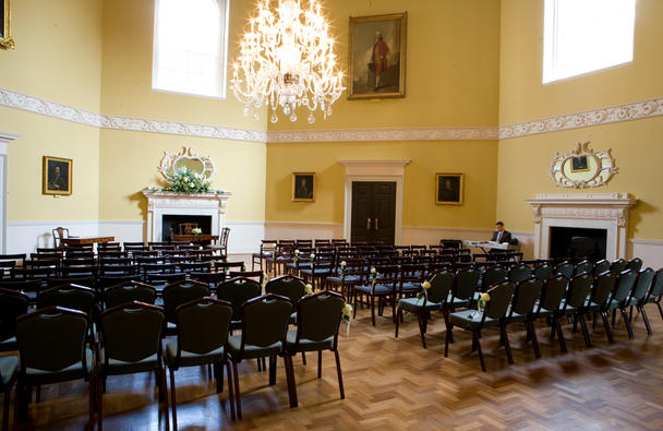 Wedding ceremony in the Great Octagon