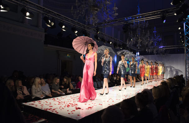 Fashion Show at the Assembly Rooms, Beata Cosgrove