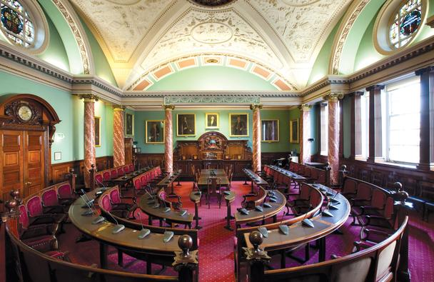 Council Chamber, Freia Turland Photography