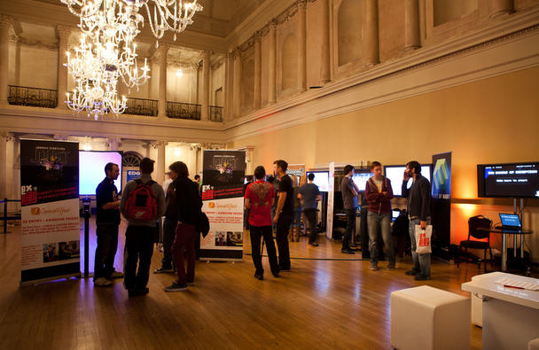 Gaming exhibition in the Tea Room