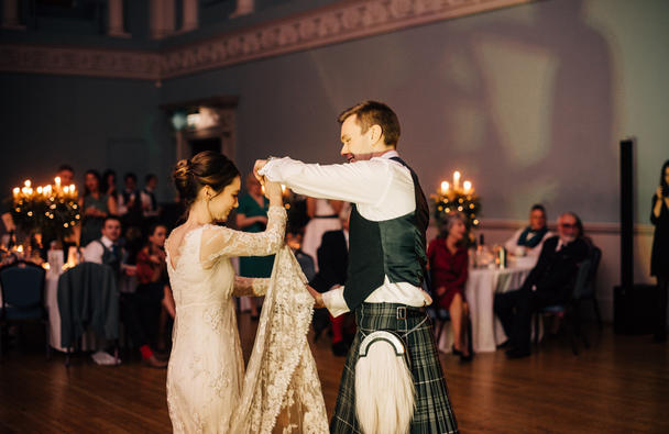 First dance in the Ball Room, Amy Sanders