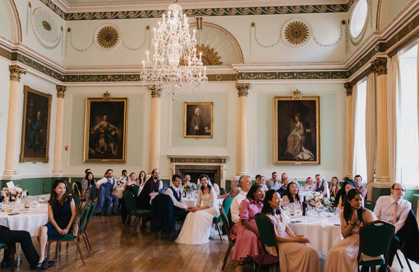 Reception in the Banqueting Room, Siobhan Amy Photography
