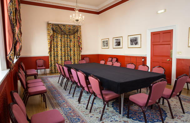Board room style meeting, the Kingston Room