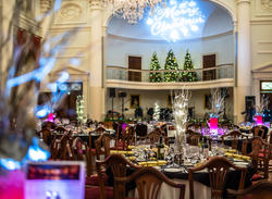 Christmas dinner in the Pump Room