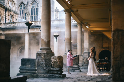 Ceremony by the Great Bath, Amy Sanders