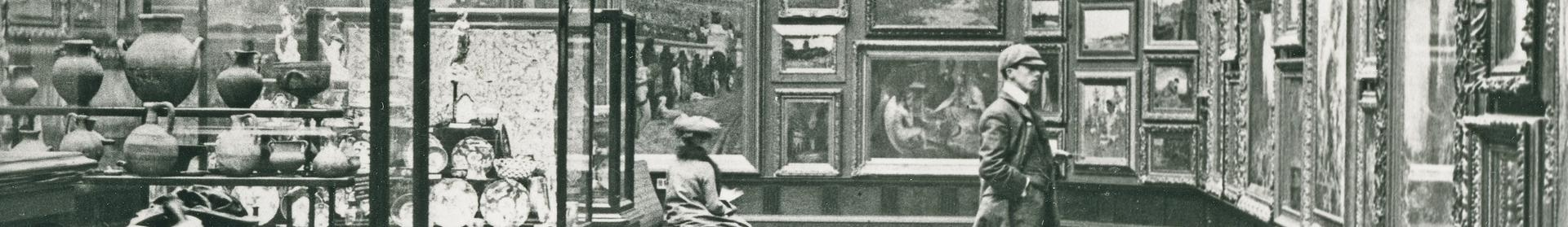 Image: historic image of the Victoria Art Gallery