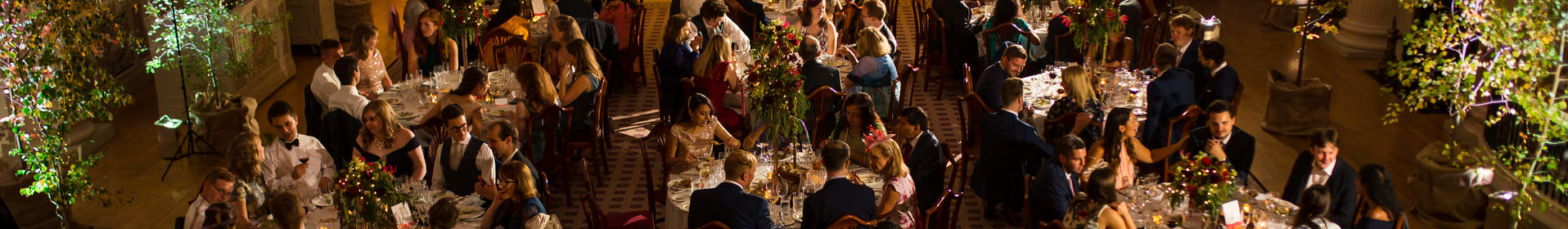 Wedding reception in the Pump Room, Bhavesh Chauhan