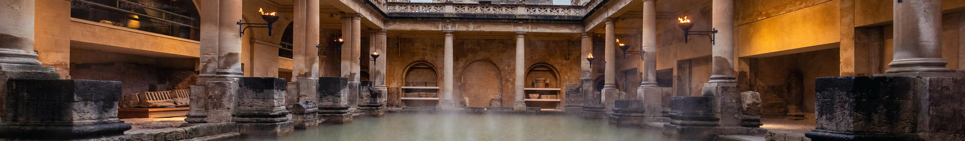 Image: View of the Great Bath, Rebecca Faith Photography