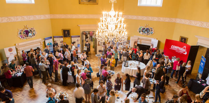 Exhibition and registration in the Great Octagon, Lee Niel
