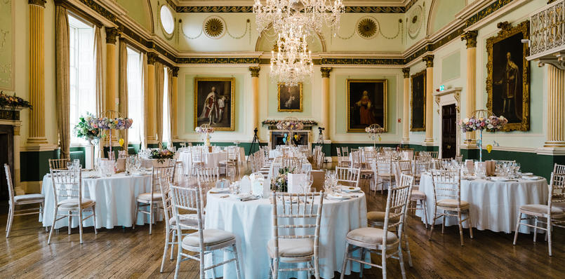 Wedding Breakfast in the Guildhall Banqueting Room