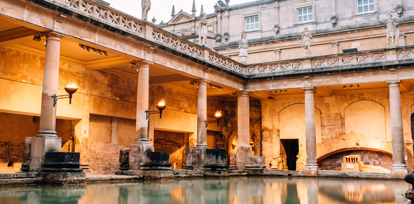 View of the Great Bath, Amy Sanders