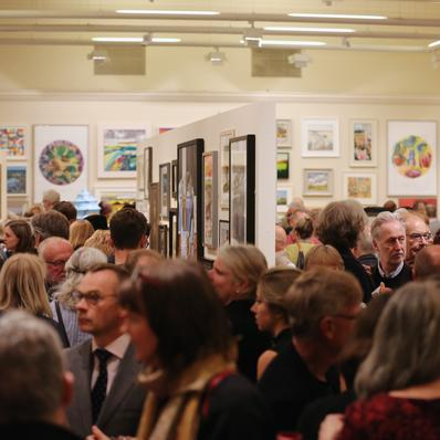 Private view in the Lower Gallery