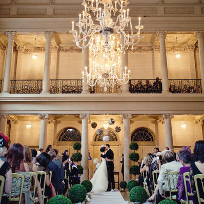 Wedding Ceremony in the Tea Room, Marianne Taylor Photography