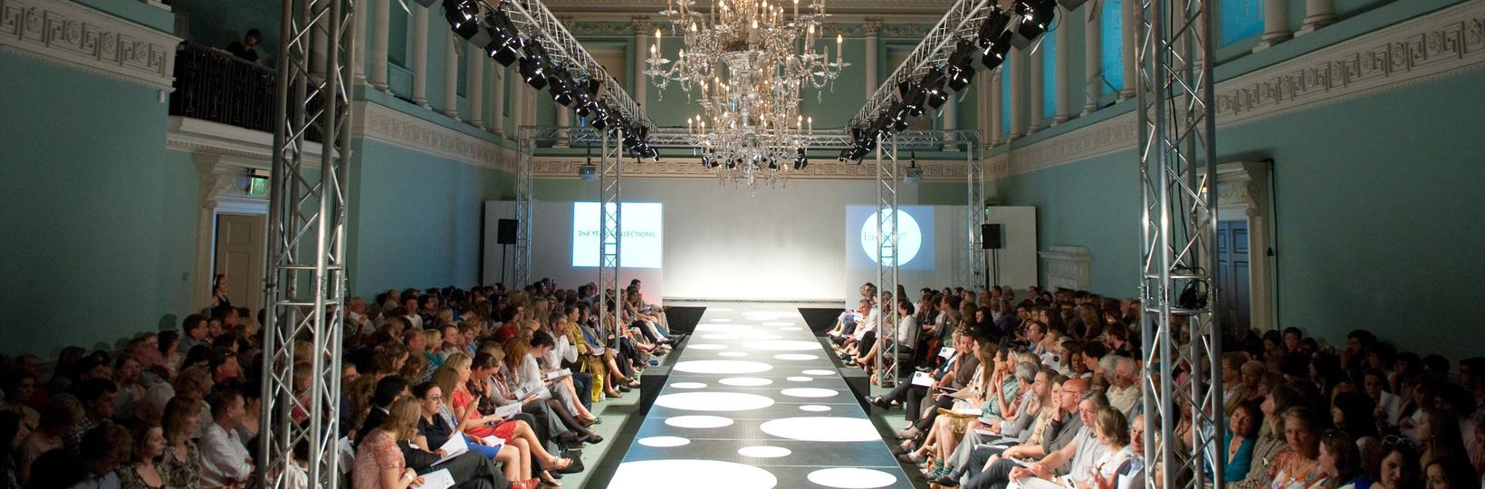 Fashion show in the Ball Room