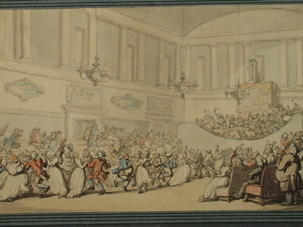 Assembly Rooms Ball, 18th Century