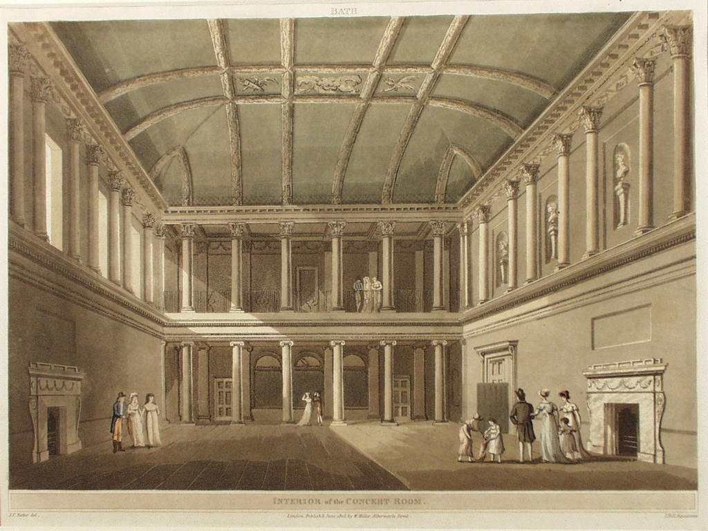 Assembly Rooms interior, 18th Century