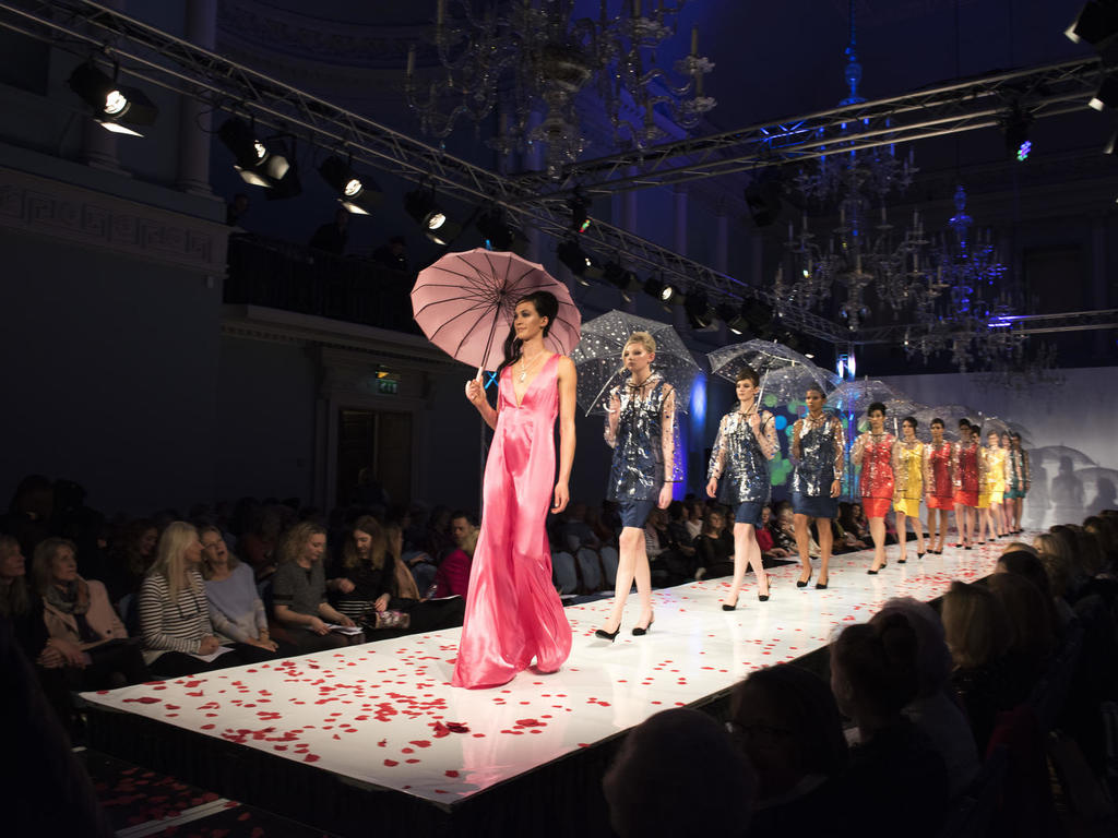 Image: Fashion Show at the Assembly Rooms, Beata Cosgrove