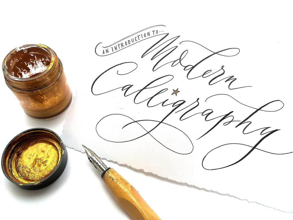 Image: Example of calligraphy
