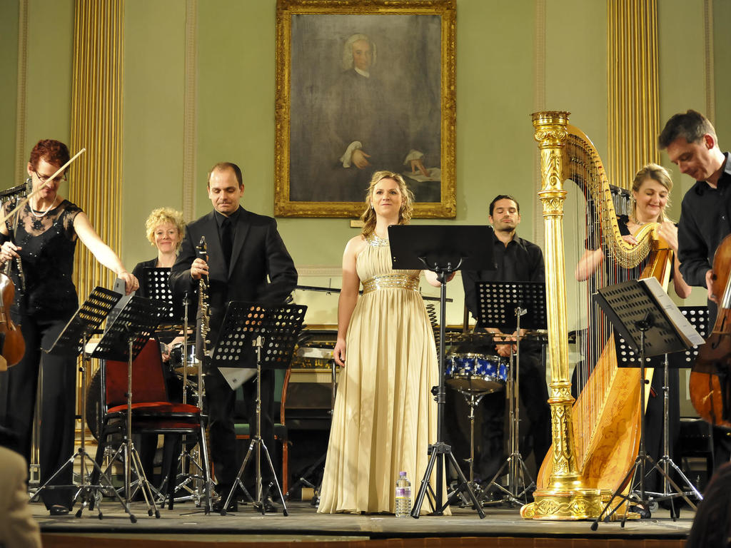 Image: Concert in the Banqueting Room, Julian Foxton