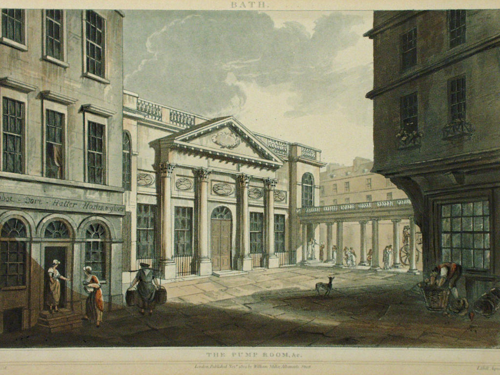 18th Century view of the Pump Room